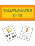 *Norwegian* Tallplakater 1-5