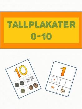 *Norwegian* Tallplakater 6-10