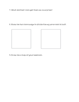 """Not Enough Room"" Comprehension Questions"