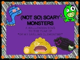 (Not So) Scary Monsters- A Tune For Halloween!!