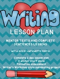 """Not a Box"" 2 day Writing Lesson Plan :Using Mentor Texts"