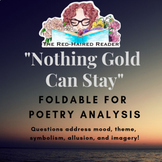 Nothing Gold Can Stay by Robert Frost Poetry Analysis Fold