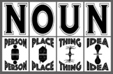 """Noun"" Bulletin Board - Class up your classroom!"