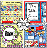 Winter Clip Art Bundle - Snowmen, President's Day and more!