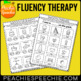 Fluency Therapy Activities (Stuttering Therapy)