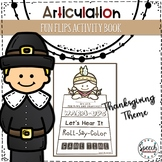 Articulation Fun Flips Activity Book
