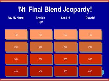 'Nt' Final Blend Jeopardy!