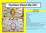 'Numbers About My Life'. A fun 'get to know you' MATHS act