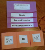 Bilingual Math Numbers Activities