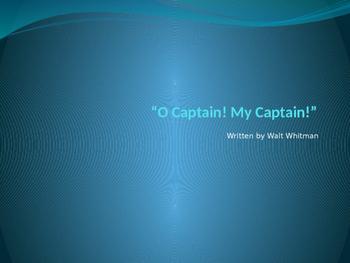 """""""O Captain! My Captain!"""" PowerPoint"""