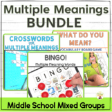Multiple Meaning Words Bundle of Fun