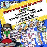 Speech Therapy PICTURE PERFECT GRAMMAR bundle w/ bonus sentence building