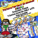 Speech Therapy PICTURE PERFECT GRAMMAR bundle bonus sentence building speddeals