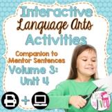 Interactive Language Arts Activities Companion: Volume 3,