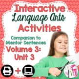 Interactive Language Arts Activities: Vol 3, THIRD Unit (Gr 3-5)