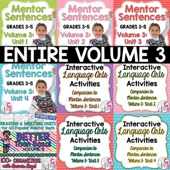 BIGGEST & BEST Bundle: Volume 3 for Grades 3-5 - 1 ENTIRE year!