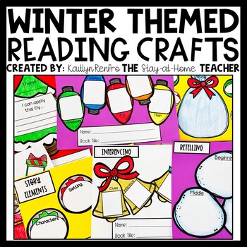 *ON SALE* Fiction Reading Craftivities - WINTER