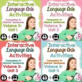 Interactive Language Arts Notebook (Vol 3) Bundle (Grades 3-5) - Four Units!