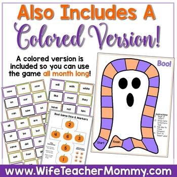 October Sub Plans ELA for Kindergarten. Halloween.