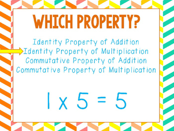 Identity and Commutative Properties GROWING BUNDLE