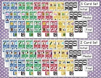 Articulation 'ONE' Games - Set 2 (R, L, S, Z)