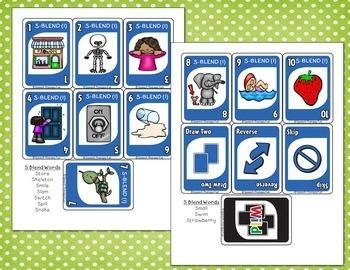 Articulation 'ONE' Games - Set 4 Blends (R, S, L)