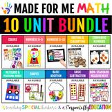Made For Me Math Growing Bundle