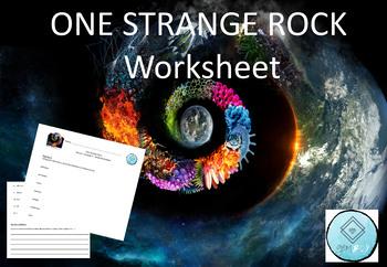 One Strange Rock Worksheet - S1E3 Shield