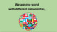 'ONE WORLD' (Grades K-7) ~ MP4 Song Video l Distance Learning
