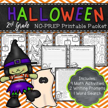Halloween Activities - No Prep Printables
