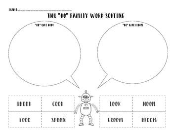 """""""OO"""" Family Activity Sheets"""