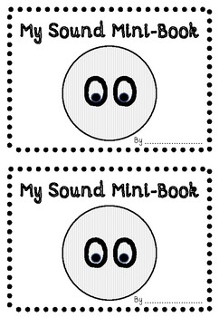 'OO' (SHORT OO sound) PHONIC SOUND MINI-BOOK