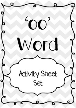 'OO' Word Matching Activity