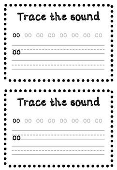 'OO' (long OO sound) PHONIC SOUND MINI-BOOK
