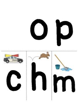 -OP Word Family Flip Book