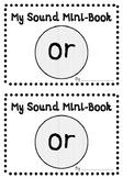 'OR' PHONIC SOUND MINI-BOOK