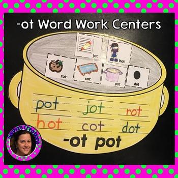 -OT CVC Word Family Centers