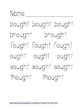 -OUGHT