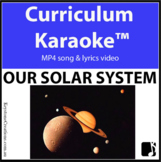 'OUR SOLAR SYSTEM ~ Curriculum Karaoke™ MP4 Song & Lyrics