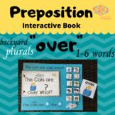 """OVER"" Interactive Book + Sentence Formulation Plurals, Ba"