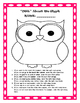 """""""OWL"""" About Me Activity Packet"""