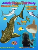 """Ocean Fish"" Art & Nature Unit for Little Kids"