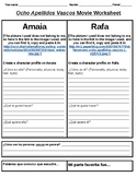"""Ocho Apellidos Vascos"" Movie Worksheet"