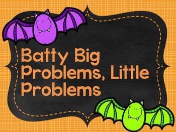 Big Problem, Little Problem Halloween Bundle
