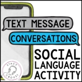 Continuing Text Message Conversations Social Language No Print