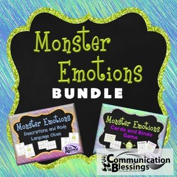 Monster Emotions Bundle