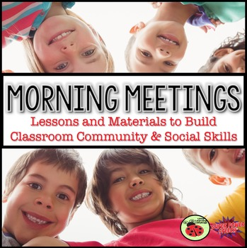 Morning Meeting (Push-in speech therapy curriculum)
