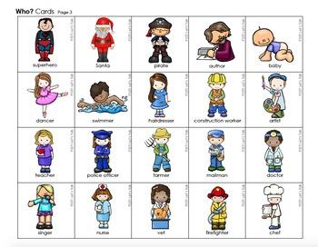 Multi-Purpose Speech/Language Cards