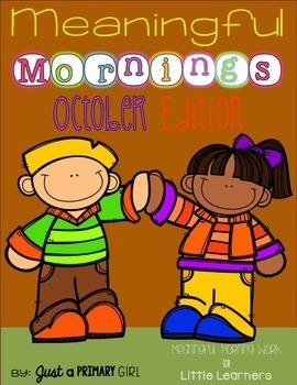 ~*October Morning Work #falloween