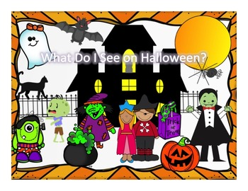 Halloween Bundle-Vocabulary Story,Cariboo,Bingo,Roll&Cover